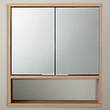 Mirrored Bathroom Wall Cabinet Bathroom Cabinets Bathroom Vanities John Lewis