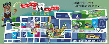 Show Route 66 Usa Map by Maps U0026 Guide U2013 Birthplace Of Route 66 Festival