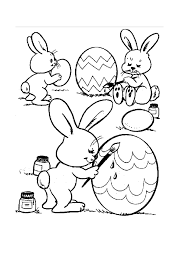 easter colotring pages