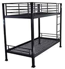 Black Bunk Beds Black Bunk Bed 3ft Single Metal Bunkbed Can Be Used By Adults