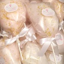 wedding candy favors glam gourmet chagne cotton candy wedding favors from the cotton