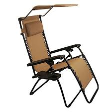 Oversized Zero Gravity Lounge Chair Sundale Outdoor Zero Gravity Chair With Canopy Tan Our Rating