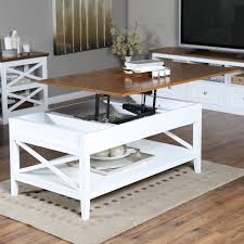 coffee table amazon com stelar white lacquer lift top