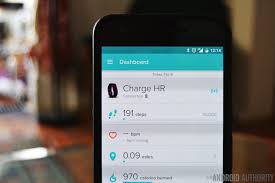 fitbit app android fitbit charge hr review