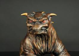 guard dog statue terror dog sculpture for ghostbusters fans walyou