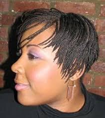 pixie braid hairstyles side view micro braid pixie natural hair care pinterest