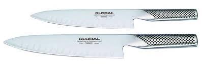 couteau de cuisine japonais couteau de cuisine lame alvéolée global g61 et g63 couteau