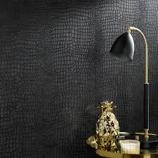 crocodile black wallpaper graham u0026 brown
