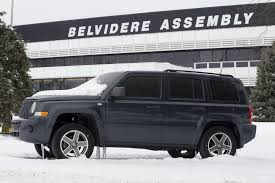 jeep compass side jeep compass and patriot production ends at the belvidere plant