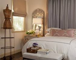Traditional Bedroom - traditional bedroom design with stunning home goods mirrored