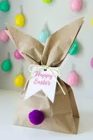 Gift Ideas For Easter Diy Easter Bunny Gift Bag Idea Religious Ed Pinterest Easter