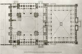 floor plan of mosque süleymaniye mosque plan 1 scientific diagram