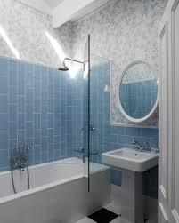 blue tiles bathroom ideas going vertical with subway tile bathtubs subway tiles and tile