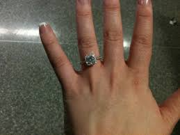 size 6 engagement ring size 5 6 fingers weddingbee