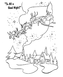 bluebonkers santa claus coloring pages 21