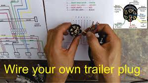 trailer hitch wiring diagram tags 7 pin beautiful 6 carlplant