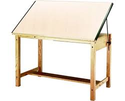 Mayline Ranger Drafting Table Mayline Wood 4 Post Drafting Table Tiger Supplies