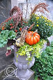 serendipity refined blog abundant harvest fall urn planters for a