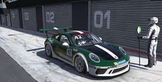 heineken british racing green porsche 911 cup by joel perkins