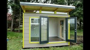 Modern Garden Sheds Modern Shed Delivery Protection Island British Columbia Youtube