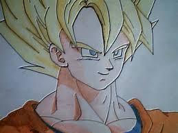 imagenes de goku para dibujar faciles con color como dibujar a goku ssj 1 youtube