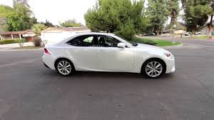 lexus is 250 for sale cargurus 2015 lexus is250 eminent white pearl youtube