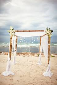 wedding arches bamboo 19 charming and coastal wedding arch ideas for 2018
