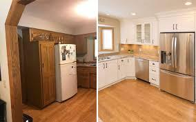 updating oak cabinets in kitchen updating oak cabinets doors floors trim living with oak 101