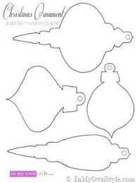 best photos of felt ornament patterns printable with