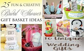 Wedding Gift Basket Ideas Best Selected Wedding Gifts Fun And Creative Bridal Shower Gift