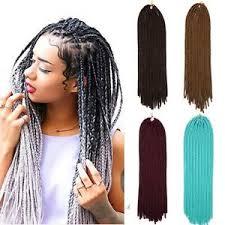 soft dred hair ombre synthetic crochet twist braiding soft dreadlocks dread hair
