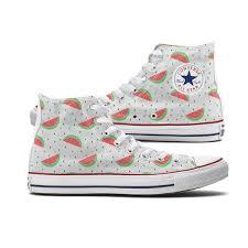 high tops watermelon converse high tops chucks