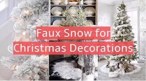 snow decoration 90 creative snow ideas for christmas decorations decomg