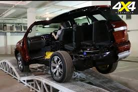 2016 Ford Everest New Ford Everest Articulation 4x4 Australia