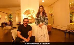 Aamir Khan House Interior Secret Superstar Visits Gauri Khan Designs Ssshhh