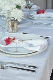 place settings style your place settings with flowers decor gold designs