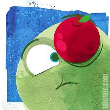 apple of your eye illustrated at idiomic com definition exle