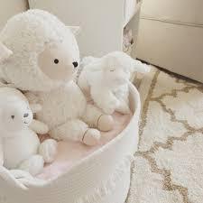 White Nursery Glider Neutral White Gold And Blush Pink Nursery Baby Baby