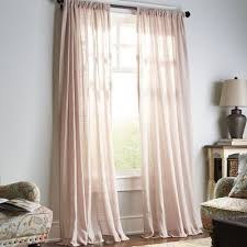Light Grey Sheer Curtains Pier 1 Imports Quinn Sheer Curtain Blush 84 29 95 Per Panel