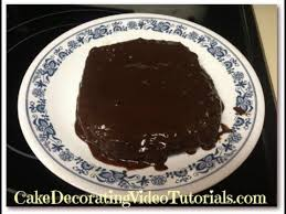 how to make easy dark chocolate cake frosting recipe youtube