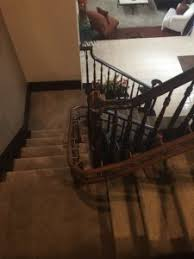 curved stair lift las vegas a recent installation by acme home