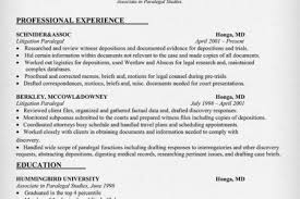Paralegal Resume Samples by Resume Samples And Templates For Paralegal Great Paralegal Resume
