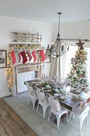 Cotton Tree Interiors Cotton Stem Interiors Christmas Decor Farmhouse Dining Table Jpg