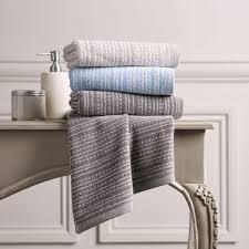 Powder Room Hand Towels Christy Fine Stripe Powder Blue Hand Bath Towel U0026 Sheet Dove Mill