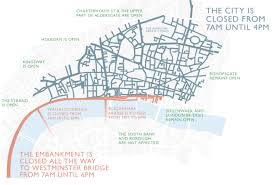 map of the road when is the lord mayor s show 2017 route map date road closures