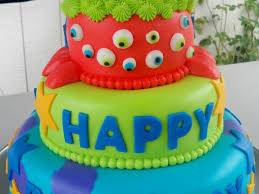 monsters inc themed birthday cake cakecentral com