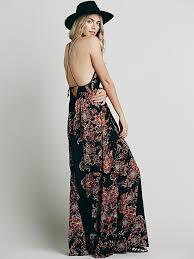 Free People Womens Cantik Maxi Dress In Black Lyst