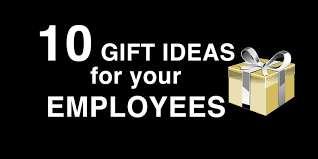 10 great gift ideas for your employees