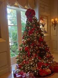 christmas tree decoration ideas with ribbon decorations decorating