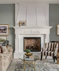 Count Rumford Fireplace Fireplace Renovation Adds A Modern Touch To A Dated Family Room